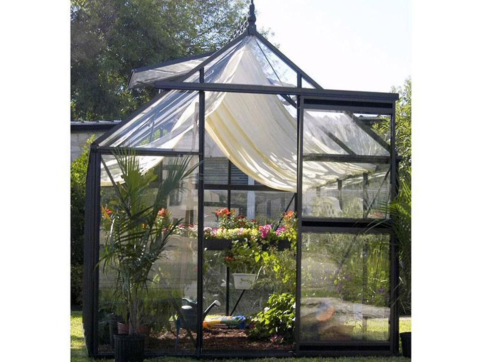Janssens Junior Victorian J-VIC 24 Greenhouse 8ft X 13ft with accessory kit (shade cloth and seed tray)