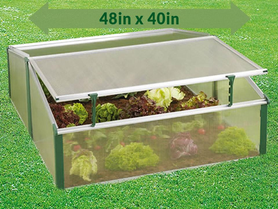 Juwel Easy-Fix Double Cold Frame | Greenhouse Emporium