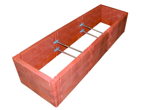 Juwel Raised Bed Cold Frame triple - Support Braces for Added Strength