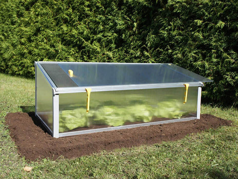 Double cover of the Juwel Year-Round Cold Frame (first layer slides out)