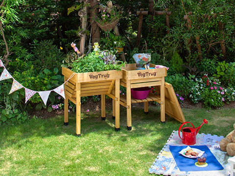 Image of VegTrug Kids Workbench with VegTrug Kids Planter