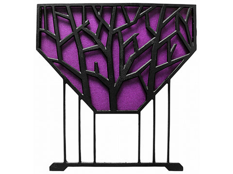 Image of Side View of Purple Liberty VegTrug Raised Bed Planter