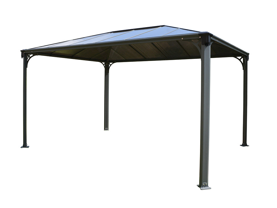 Bare Martinique Hard Top Gazebo with white background