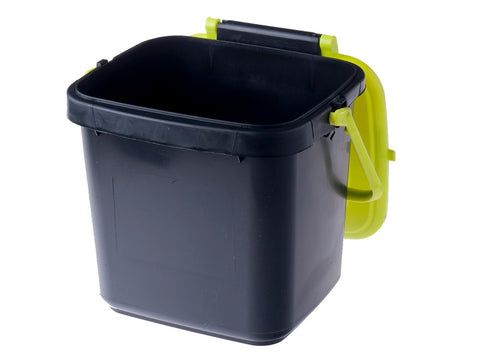 Image of Maze Kitchen Caddie Compost Bin 1.85 gal with open lid and white background