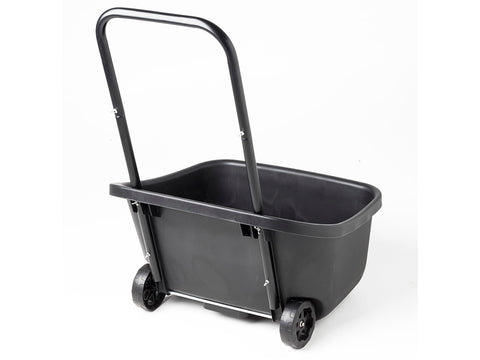 Black MAZE Composting Cart from the back
