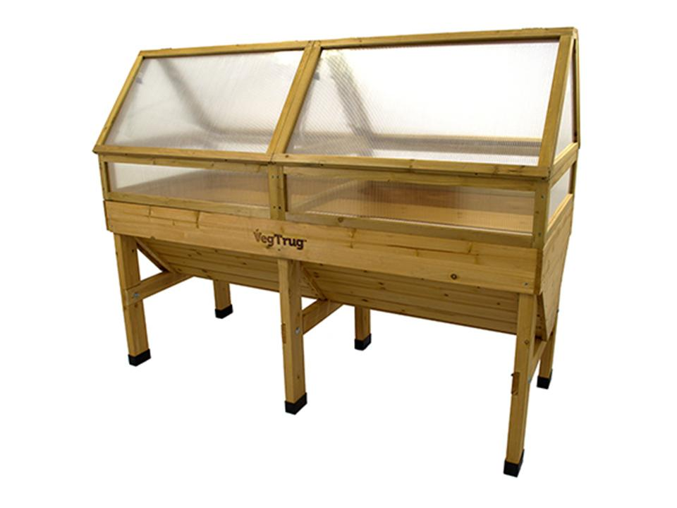 Medium, Natural color Cold Frame for VegTrug Planter