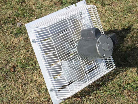 Image of Monticello Growers Edition Greenhouse - exhaust fan