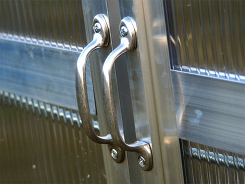 Image of Monticello 8x8 - Life Cycle Package Aluminum Door Handles