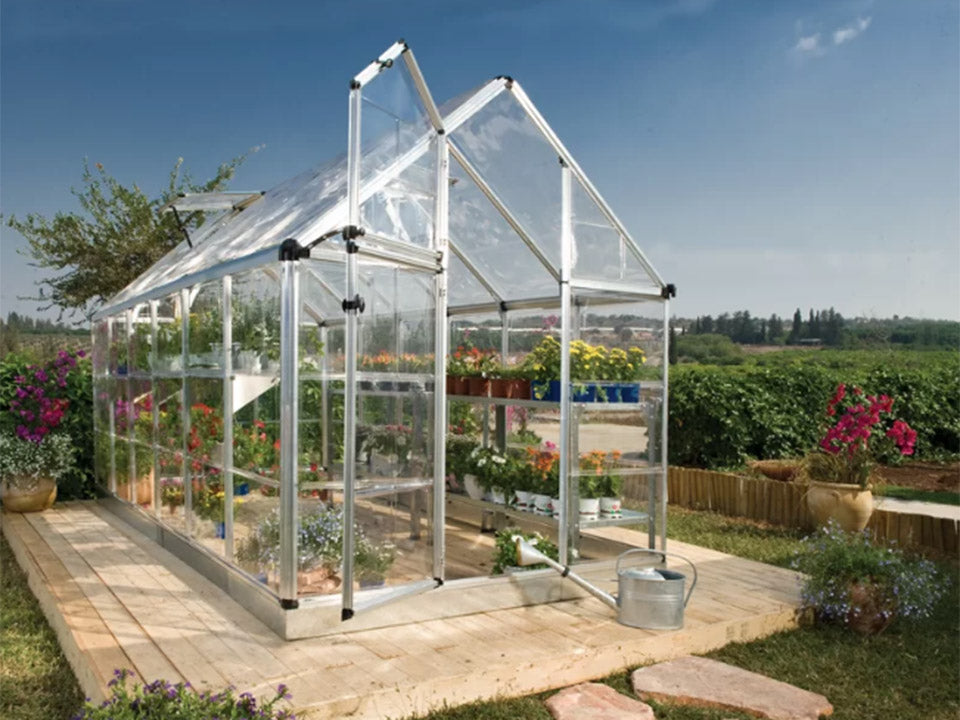 Palram 6ft x 12ft Snap & Grow Hobby Greenhouse - HG6012
