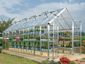Palram 8ft x 20ft Snap & Grow Hobby Greenhouse - HG8020