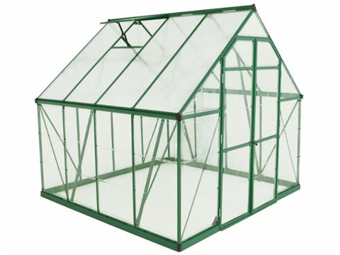 Image of Palram 8ft x 8ft Balance Hobby Greenhouse - HG6108G
