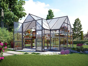 Palram Chalet 12ft x 10ft Hobby Greenhouse HG5400
