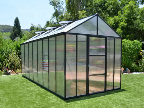 Image of Palram Glory 8ft x 16ft Hobby Greenhouse HG5616