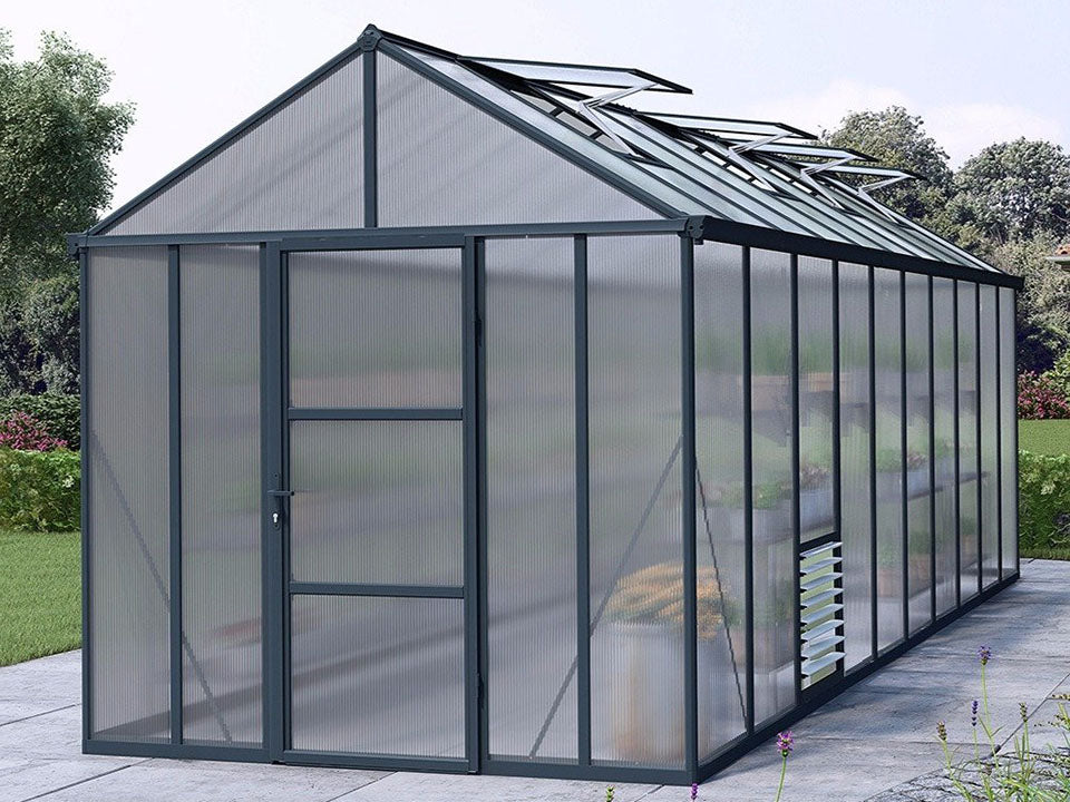 Palram Glory 8ft x 20ft Hobby Greenhouse HG5620