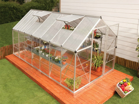 Image of Palram Hybrid 6ft x 14ft Hobby Greenhouse-HG5514