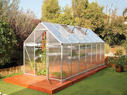 Palram Mythos 6ft x 14ft Hobby Greenhouse HG5014