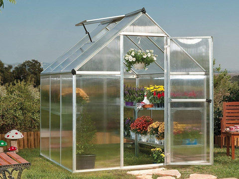Palram Mythos 6ft x 6ft Hobby Greenhouse HG5006