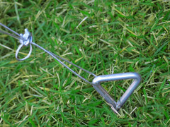 Palram Nature Series Anchor Kit - HG1029 - full view - anchored to the ground