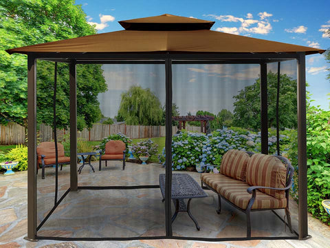 Paragon Barcelona Soft Top Gazebo 10ft x 12ft