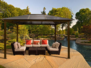Paragon Madrid 10ft x 13ft Hard Top Gazebo