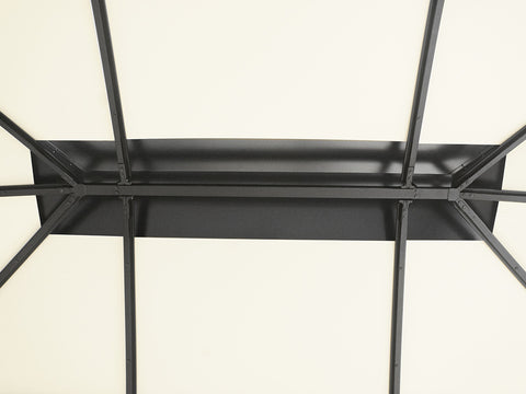 Image of  Rectangular center piece of the canopy frame work