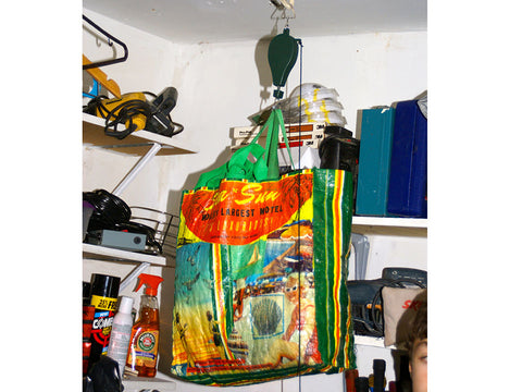 Image of Hanging bags using the Plants Caddie Hook