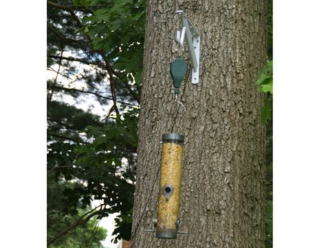 Image of Bird Feeder using Plant Caddie Hook