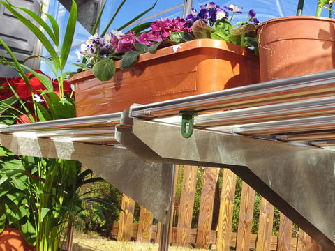 Image of Attached Plant Hangers for Palram Greenhouses