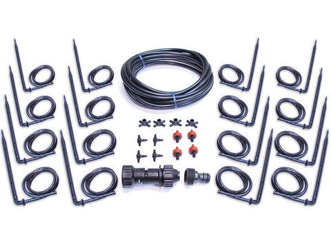 Rion Prestige 2 Twin Wall 8ft x 12ft Greenhouse HG7312 - drip irrigation kit