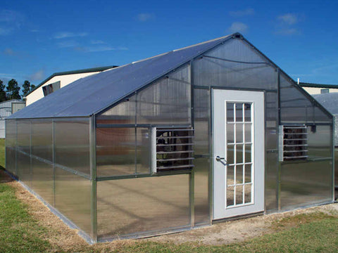 Image of Riverstone Industries (RSI) 12ft x 24ft Thoreau Premium Educational Greenhouse  R12246-P(G)