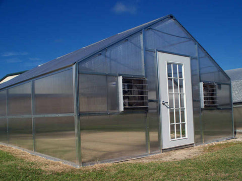 Image of Riverstone Industries (RSI) 12ft x 24ft Whitney Premium Educational Greenhouse  R12248-P(G)