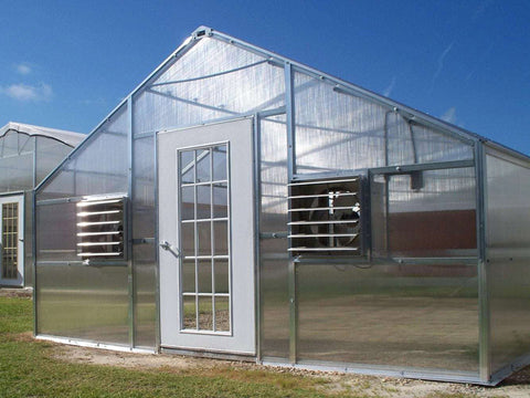 Image of Riverstone Industries (RSI) 16ft x 24ft Wallace Premium Edition Educational Greenhouse R16248-P(G)