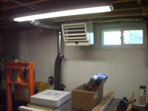 Image of Installed RSI Greenhouse Heating System