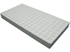 128 plug RSI Hydroponic Floating Seeding Tray - white background