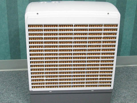 Back view of the RSI Evaporative Cooler