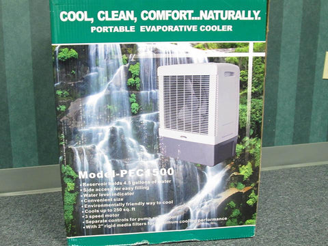 Image of RSI Evaporative Cooler, or swamp cooler package