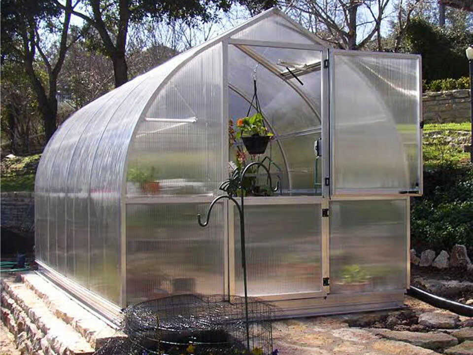 "Hoklartherm Riga 4s Greenhouse 7'8""x14'"