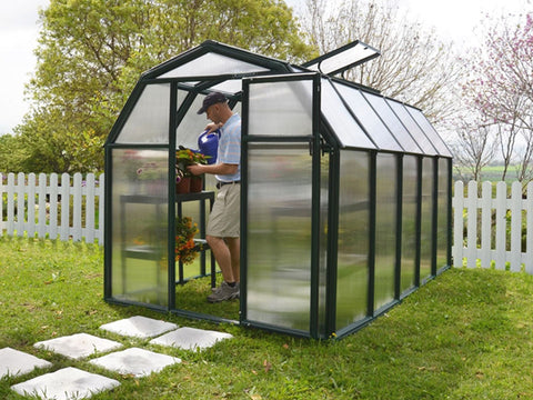 Image of Rion 6ft x 10ft EcoGrow 2 Twin Wall Greenhouse - HG7010