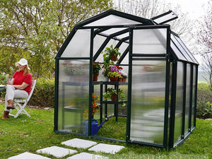 Rion 6ft x 12ft EcoGrow 2 Twin-Wall Greenhouse - HG7012