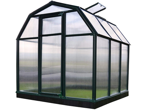 Image of Rion 6ft x 6ft EcoGrow 2 Twin-Wall Greenhouse - HG7006
