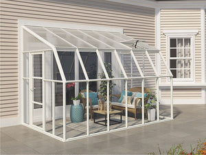 Rion 8ft x 12ft Sun Room 2 Greenhouse - HG7612