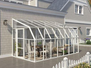 Rion 8ft x 16ft Sun Room 2 Greenhouse - HG7616