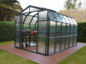 Rion Grand Gardener 2 Twin-Wall 8ft x 12ft Greenhouse HG7212