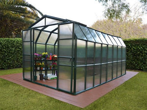 Rion Grand Gardener 2 Twin-Wall 8ft x 16ft Greenhouse HG7216