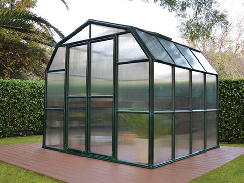 Rion Grand Gardener 2 Twin-Wall 8ft x 8ft Greenhouse HG7208