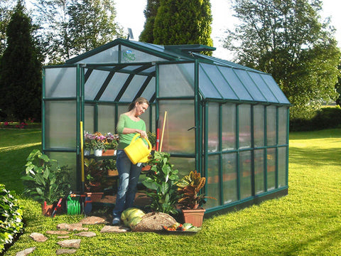 Image of Rion Prestige 2 Twin Wall 8ft x 12ft Greenhouse HG7312