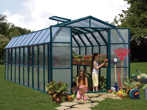 Rion Prestige 2 Twin Wall 8ft x 20ft Greenhouse HG7320