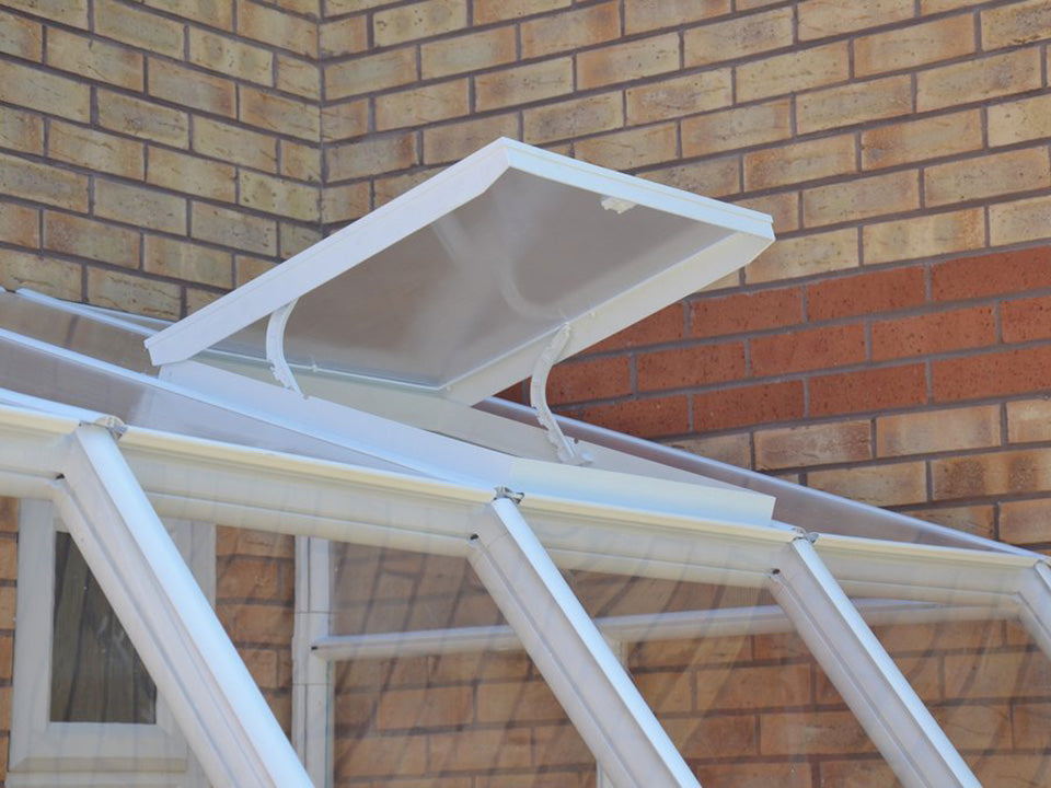 Open Rion Roof Vent Kit - Sun Room 2 -  side view
