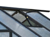 Image of Riverstone Monticello Greenhouse 8x16 - roof vent with automatic opener