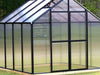 Image of Bare Riverstone Monticello Greenhouse 8x12 - closed door